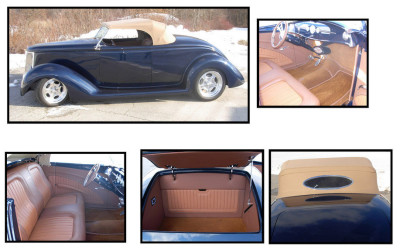 1932 Blue Roadster