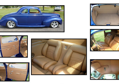 1939 Blue Ford