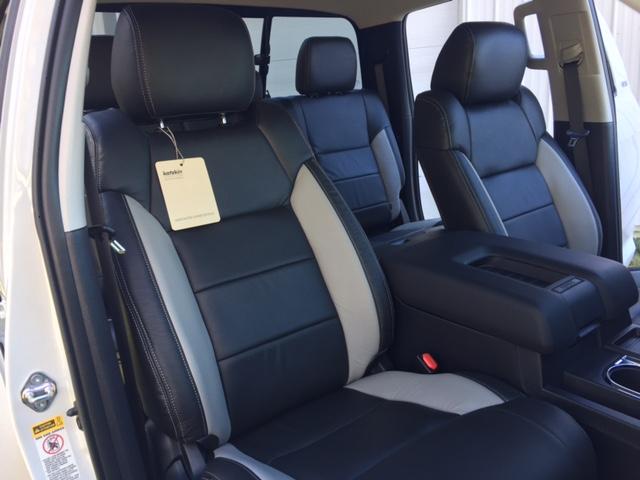 toyota tundra leather interior toyota tundra leather seats interiors seat covers katzkin. Black Bedroom Furniture Sets. Home Design Ideas